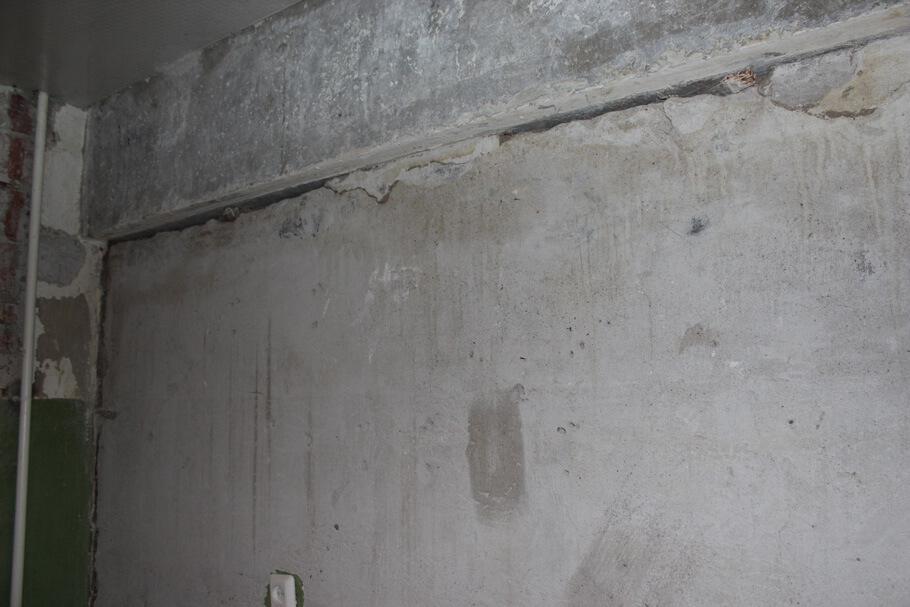 Старая стена в хрущевке