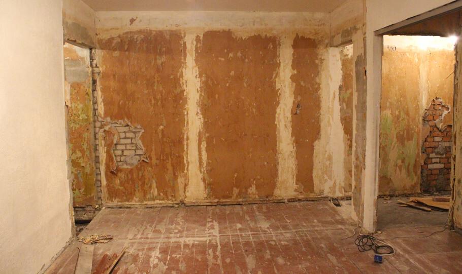 Квартира требует ремонта