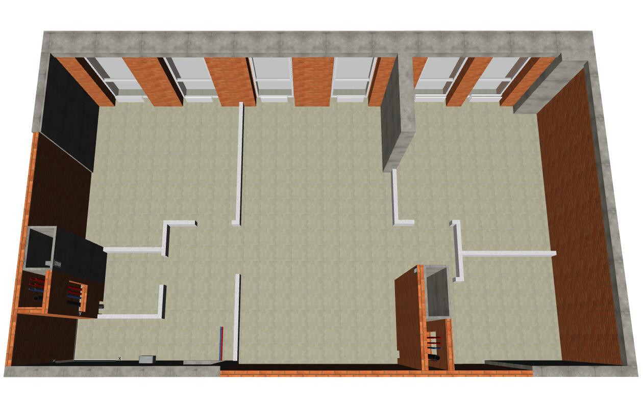 Обмер квартиры модель