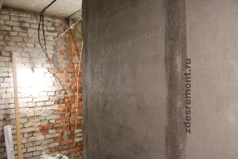 Штукатурка керамических блоков Волма Акваслой