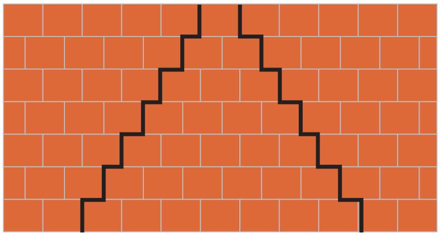 Стены из керамических блоков схема укладки