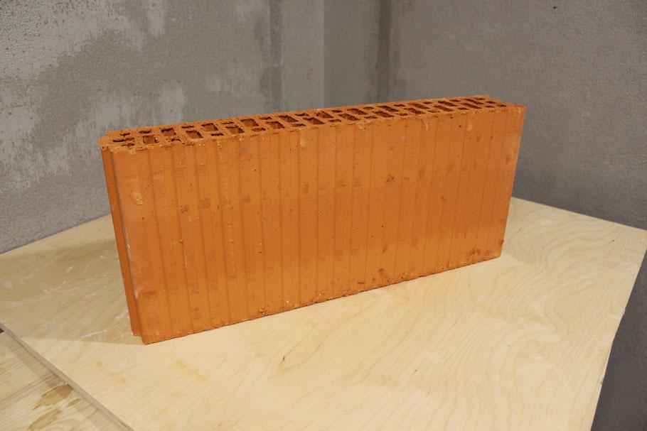 Керамический блок толщиной 80 миллиметров