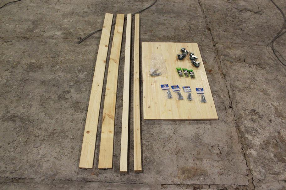 сборка рабочего стола для ремонта квартиры