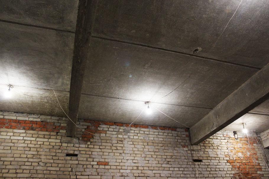 Временное освещение квартиры на период ремонта