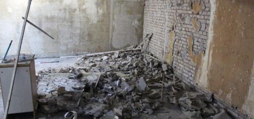 Демонтаж стен в хрущевке