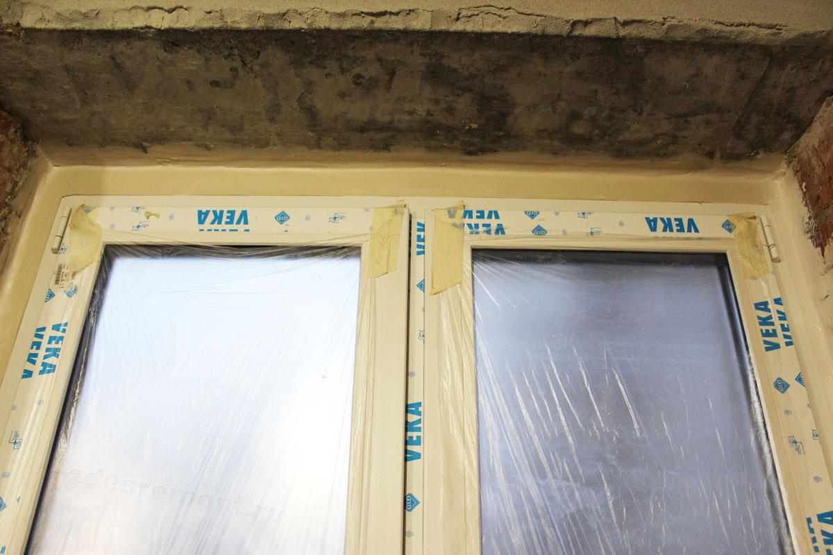 Ровное нанесение герметика для окна