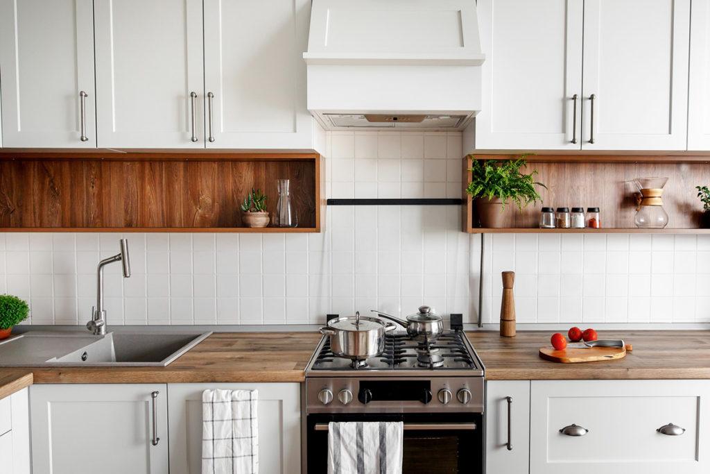 Кухня в современном скандинавском стиле
